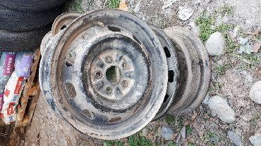 железные диски r14 в Кыргызстан: Продам комплект Дисков железные R14 (4шт)