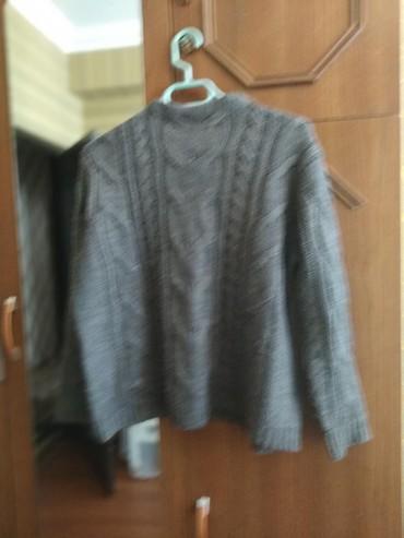 женские-серые-свитера в Азербайджан: Az geyinilib teze kimidi.baha alinib
