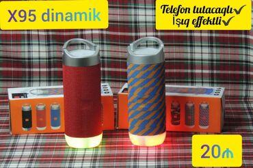 Dinamiklər və musiqi mərkəzləri - Azərbaycan: Dinamik Bluetooth,micro kart,flashkart qebul edir