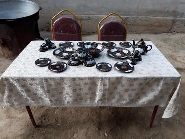 Стол в аренду - Кыргызстан: Сдаю в аренду стол стул казан очок самовар посуда в комплекте