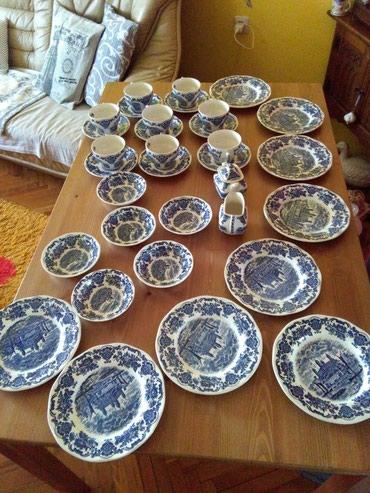 Englis porcelan sve po 8 kom,extra stanje - Sombor