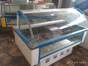 Оборудование для бизнеса в Кок-Ой: Витринный холодильник для колбасных изделий,для молоко и можно под