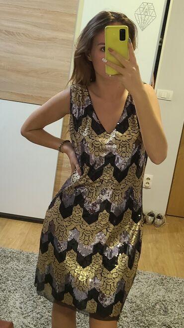 LE REDOUTE haljina, cela u sljokicama, dizajnirana u Francuskoj