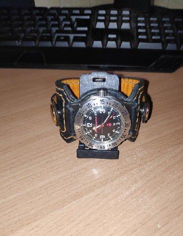 Ремешок для часов (22мм) натуральная кожа юфтьРемешок для часов из
