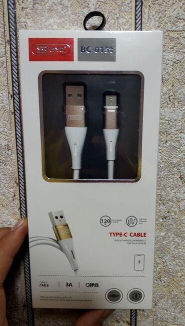 кабели синхронизации inkax в Кыргызстан: Новые! Кабель type-c премиального качества. Длина провода 120 см. С