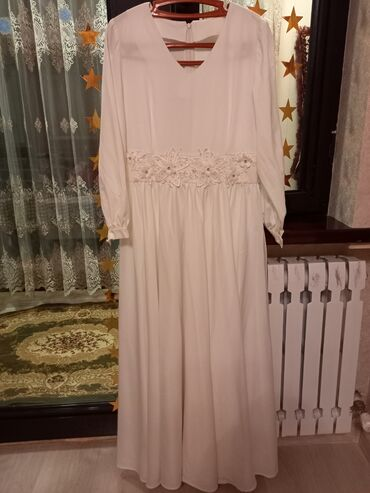 вечерние платья для полных дам в Кыргызстан: Очень нежное, скромное платье. Сшили на заказ,одели чисто на танец