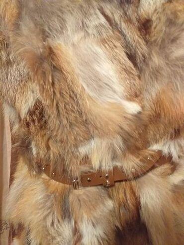 Prsluci od krzna - Srbija: Prsluk od pravog krzna crvene lisice,bez mirisa,ne linja se,postavljen
