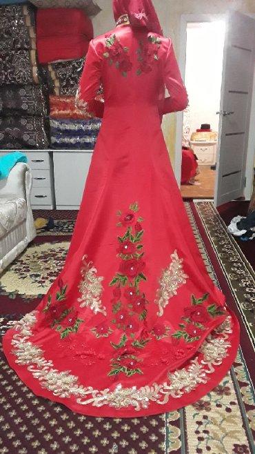 Женская одежда в Сокулук: Продаю или сдам на прокат свадебное красное национальное платье