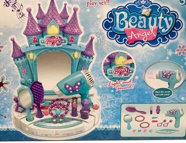 Devojke - Srbija: Kozmetički set dvorac iz ledenog kraljevstvaBudite najlepše princeze