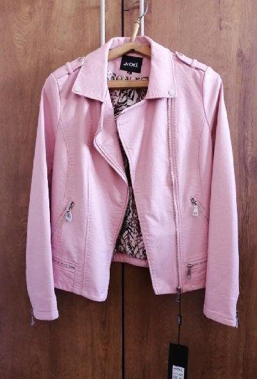женскую куртку новую в Кыргызстан: Продаю новую кожаную женскую куртку, размер XL, цена 1500 сом