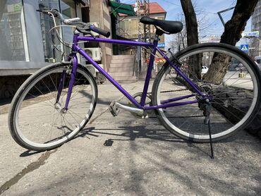 стерильные перчатки цена бишкек в Кыргызстан: Продаю шоссейник Рама металическая Колеса 26 Цена окончательная