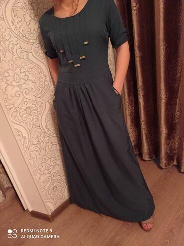 Платья - Цвет: Зеленый - Кок-Ой: Платье