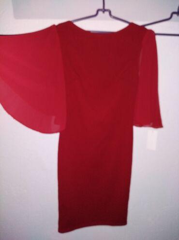 Haljine - Sombor: Haljina crvena no o iz Italije