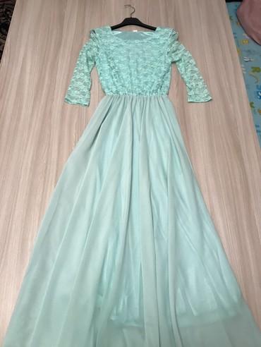 теплые платья в пол в Кыргызстан: Платье в пол размер S