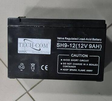 Аккумуляторная батарея TECH-COM 12 V 9 AH