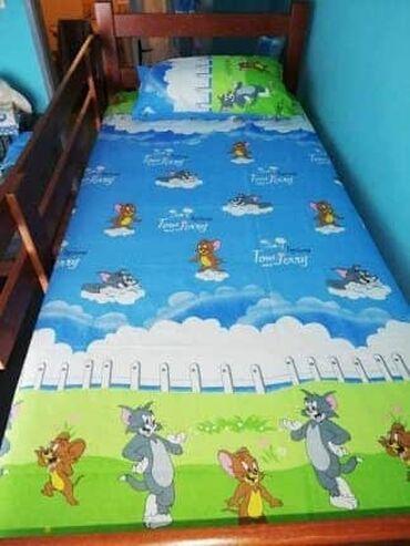 Bebi posteljina - Srbija: Tom i dzeri set posteljine.trodelna posteljina,pamuk