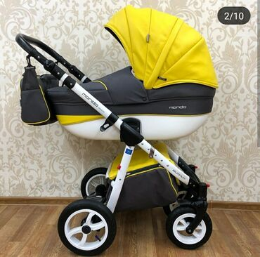 Детский мир - Майлуу-Суу: Продам польскую коляску 3 в 1