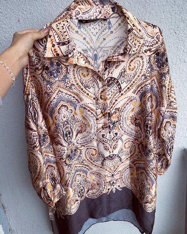 Tunika svila - Srbija: Zara tunika od svile nosena samo jednom u odlicnom stanju  Velicina S