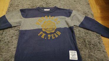 Koncani džemper za dečaka 110/116