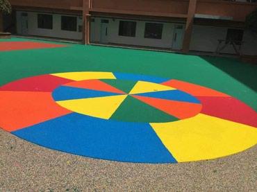 жидкий газон бишкек в Кыргызстан: Покрытия для детских площадок покрытия для спортивных площадок