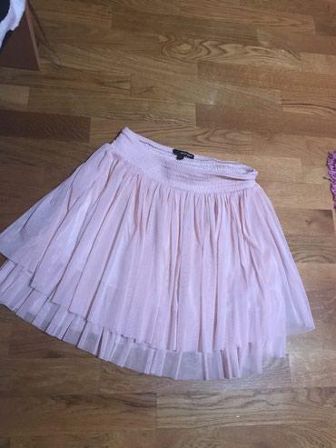 Predivna suknja Tally Weijl od tila puder roze boje ili boja kajsije. - Novi Sad
