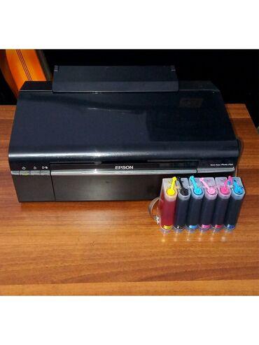 6 цветный фото принтер epson P50 Состояние идеал, полностью рабочий