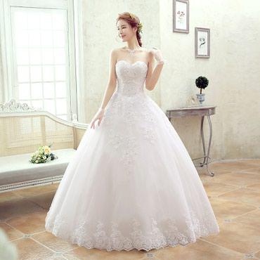 Продаю три новых свадебных платья . Каждое 7 000 сом. Это намного ниже