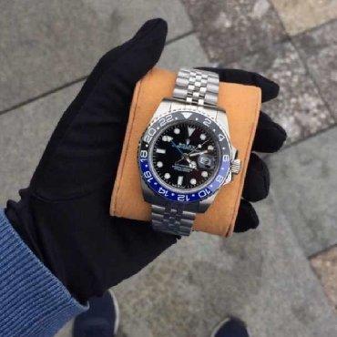 chasy rolex mehanika в Кыргызстан: Серебристые Мужские Наручные часы Rolex