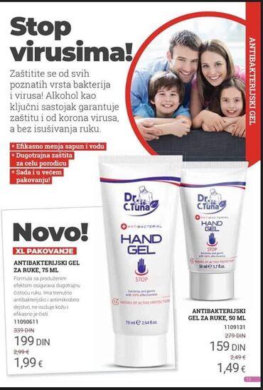 Lepota i zdravlje   Batajnica: Antibakterijski geloviZa suvo pranje rukuNe isusuju kozuManje i vece