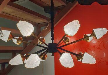 Светодиодная люстра led светиться в трех положениях высота