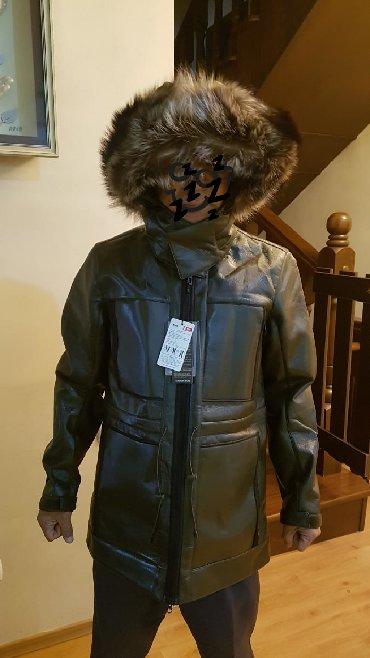 жён куртка в Кыргызстан: Новая куртка двойка с натуральным мехом лисы.Покупали за 800$ в