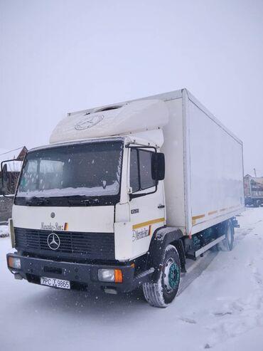 Грузовой и с/х транспорт - Кыргызстан: Мерседес гигант 1520 турбина холодильник свежий перегон без