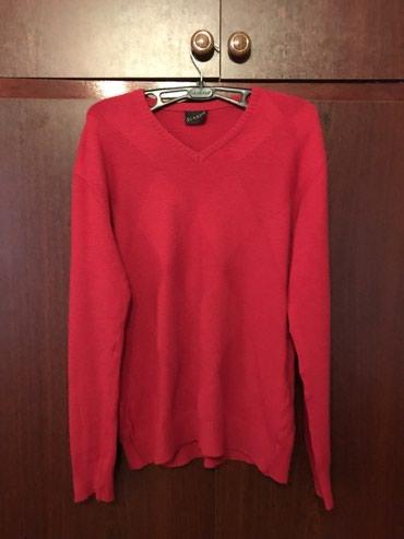 Кофта мужская Цвет: красный Размер:46 Состояние отличное в Бишкек