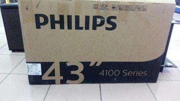 телевизор 43 дюйма в Кыргызстан: Телевизор Philips новинка! 43 дюйм 109см, dvb-t2, dvb-s2, usb, hdmi