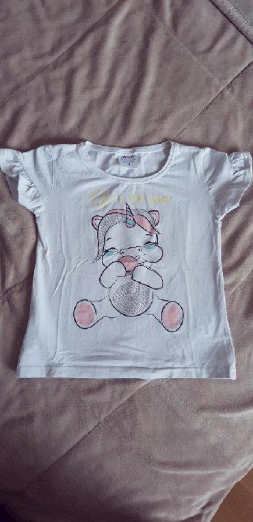 Dečiji Topići I Majice   Arandjelovac: AMK majica za devojcice Velicina 4 Odlicno ocuvana, veoma malo nosena
