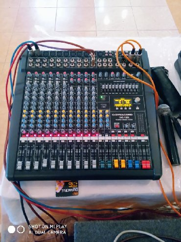 - Azərbaycan: Aparaturaa Dynacord cms 1000-3 passiv pult +Behringer europower 4000