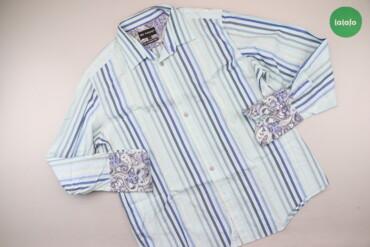 Чоловіча сорочка в смужку Marks&Spencer, р. XL   Довжина: 77 см Ши