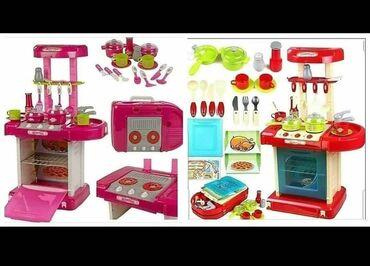 Barbie set - Crvenka: CENA: 2300,00Opis : Kuhinjica za devojcice i decake sa zvucnim i