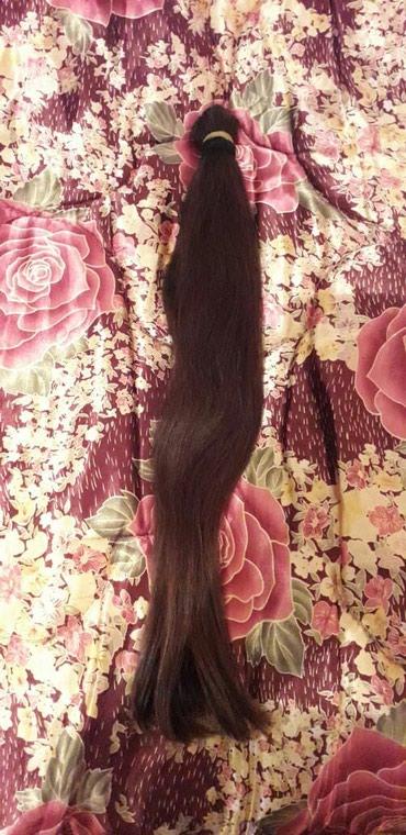 Naftalan şəhərində 11 yaşında uşağın saçı krasqasız xınasız tam təbbi saç. 55 sm