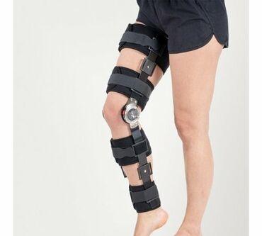 Медтовары - Военно-Антоновка: Описание: Ортез коленного сустава с регулируемыми шарнирными
