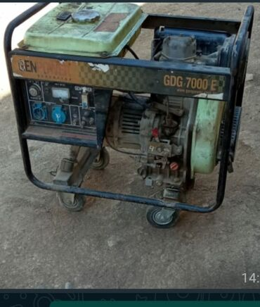 Generatorlar - Azərbaycan: Generator satilir.benzindi.450 azn.xirdalan*afa