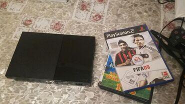 PS2 & PS1 (Sony PlayStation 2 & 1) - Azərbaycan: Ps2 ustundə iki edəd. Pult iki eded disk. Real alciya endirim olacaq