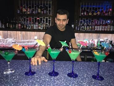 1 elan | İŞ: Ищу работу бармен опыт работы 10 лет