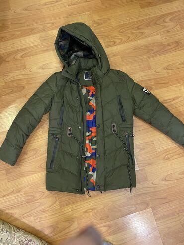 куртка касуха в Кыргызстан: Зимняя куртка для мальчика 9-10 лет