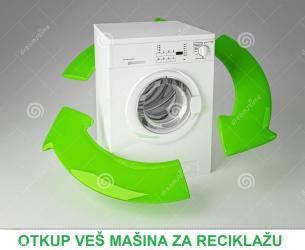 Otkup bele tehnike za reciklazu, neispravne ili stare tehnike ves - Beograd