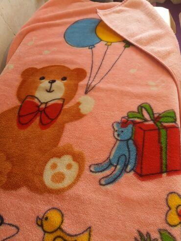 Одеяло детское 1×1.5. Отличное состояние