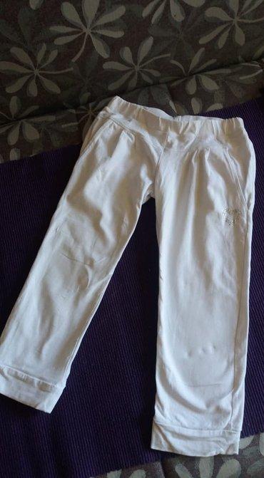 Ostala dečija odeća | Nis: Kapri helanke,bele sa cirkonima,bez ijednog ostecenja,br 10