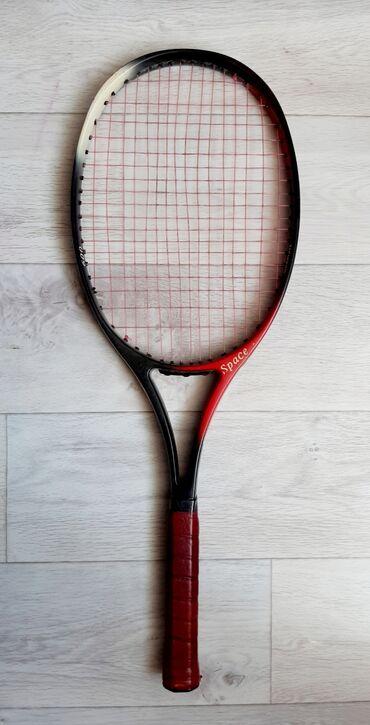 Ракетка для большого тенниса Norvit Space. Облегченный корпус. Графит