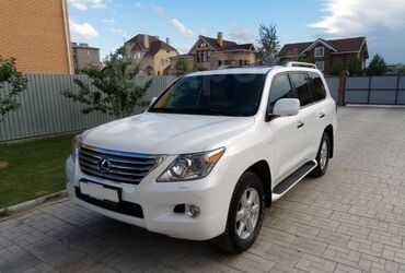 g динамики в Кыргызстан: Lexus LX 2010