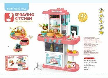 Barbie set - Crvenka: Kuhinja sa efektom prave vode na cesmiCENA: 4100,00Set se sastoji od